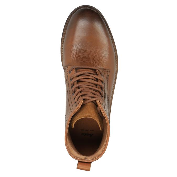 Členková obuv v Ombré štýle bata, hnedá, 896-3647 - 19