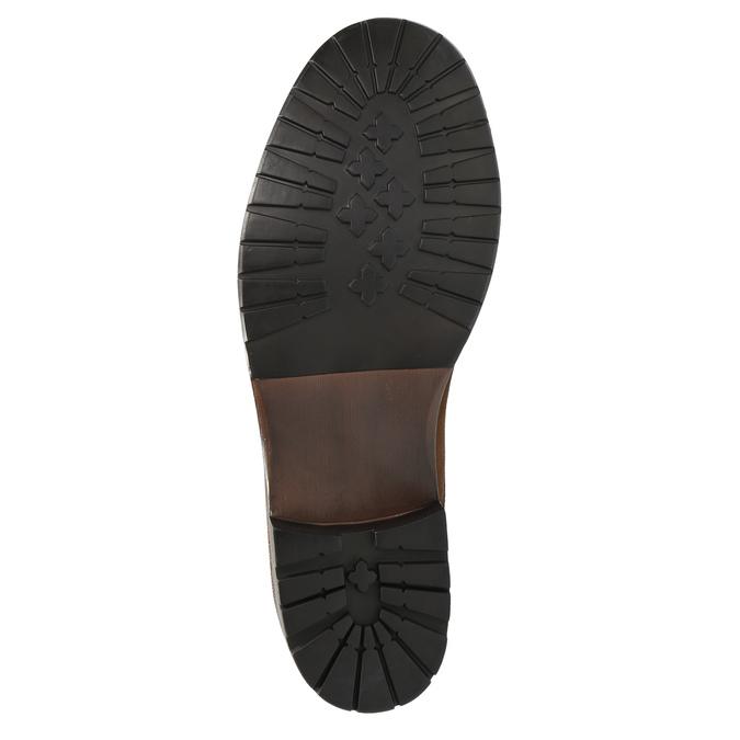 Pánska obuv v Ombré štýle bata, hnedá, 896-3649 - 26