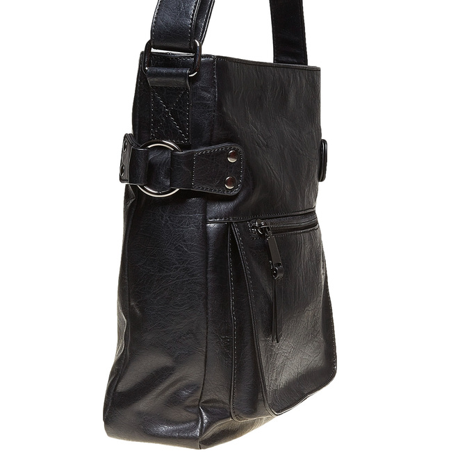 Pánska Crossbody taška bata, čierna, 961-6266 - 17