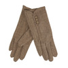 Dámske rukavice s gombíkmi bata, hnedá, 909-3405 - 13