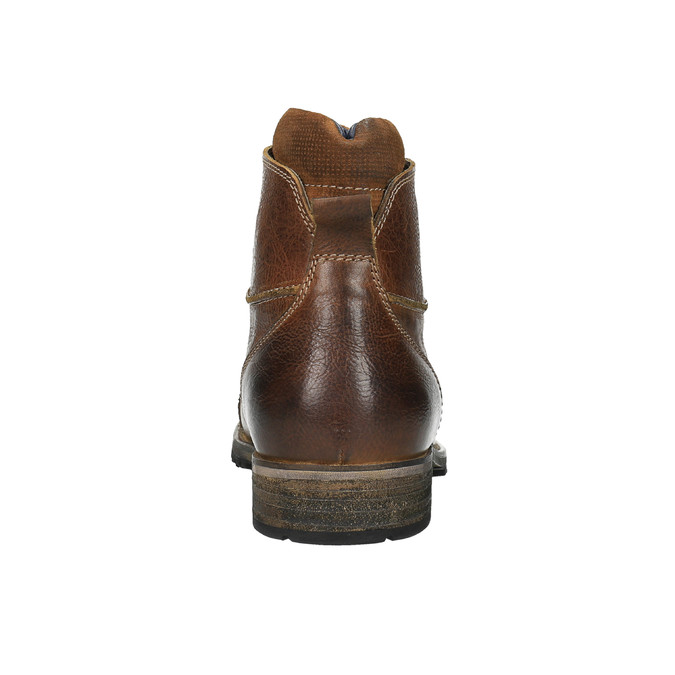 Kožená pánska obuv bata, hnedá, 894-3650 - 17