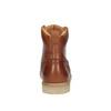 Kožená členková obuv pánska bata, hnedá, 896-3652 - 17