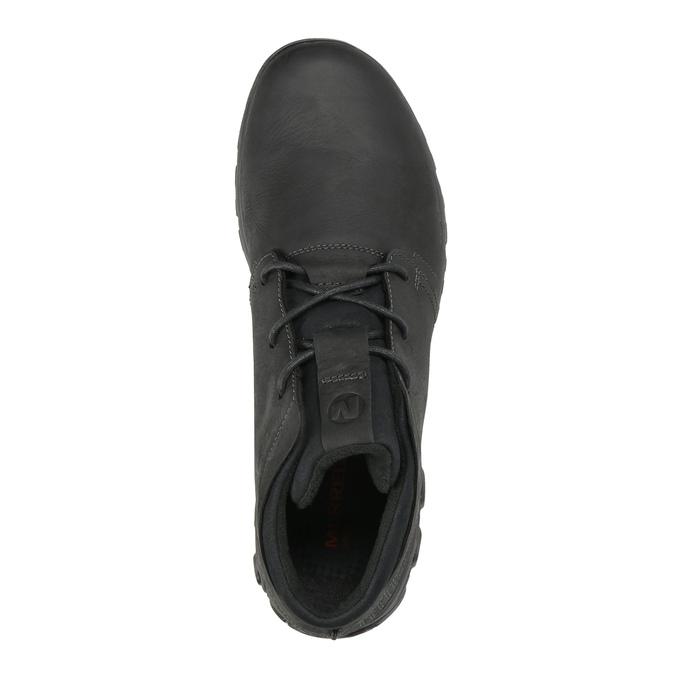 Pánske kožené tenisky merrell, čierna, 806-6836 - 19