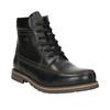 Pánska zimná obuv bata, čierna, 896-6640 - 13