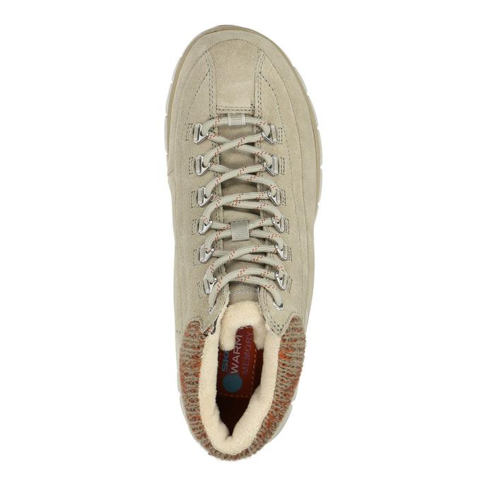 Dámska zimná obuv športová skechers, béžová, 503-3357 - 19