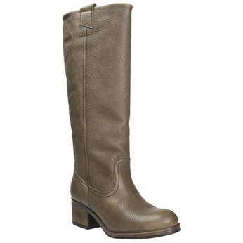 Kožené čižmy vo Western štýle bata, hnedá, 696-2608 - 13