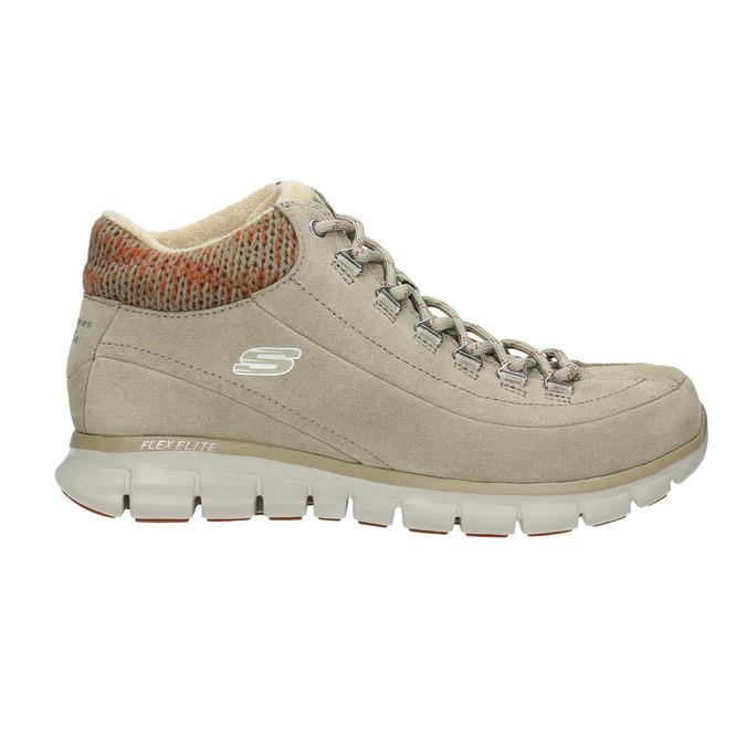 Dámska zimná obuv športová skechers, béžová, 503-3357 - 15