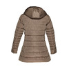 Dlhšia zimná bunda bata, hnedá, 979-8649 - 26