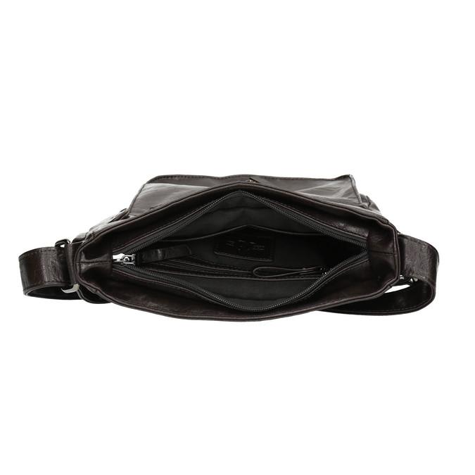 Pánska Crossbody taška bata, hnedá, 961-4266 - 15