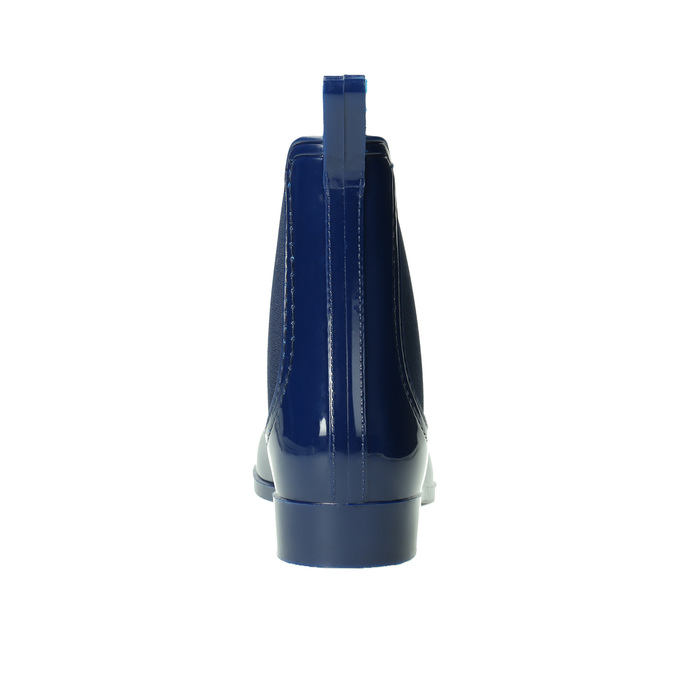 Dámske gumáky v štýle Chelsea bata, modrá, 592-9114 - 17