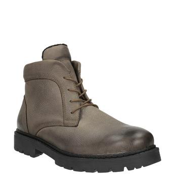 Členková pánska obuv bata, hnedá, 896-4653 - 13