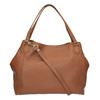 Hnedá kožená kabelka bata, hnedá, 964-3215 - 26