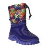 Detská zimná obuv so zateplením mini-b, modrá, 292-9201 - 13