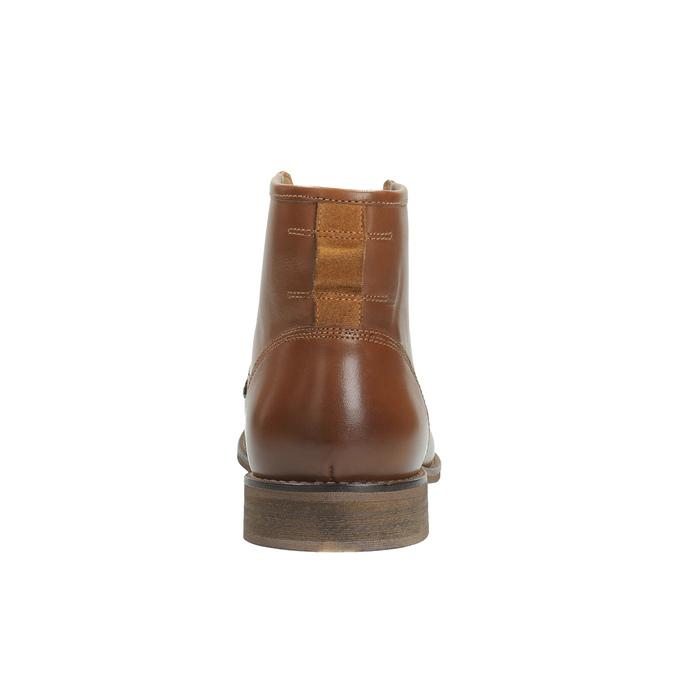 Pánska členková obuv bata, hnedá, 894-3674 - 17