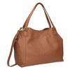 Hnedá kožená kabelka bata, hnedá, 964-3215 - 13