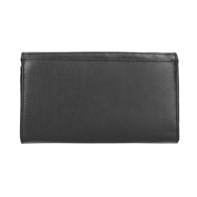 Dámska kožená peňaženka bata, čierna, 944-6357 - 19