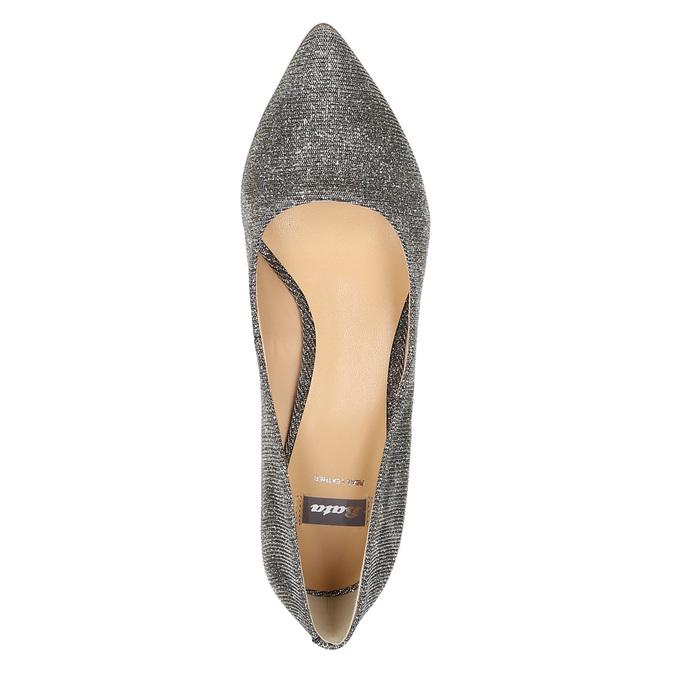 Lodičky na nízkom podpätku bata, šedá, 629-8631 - 19