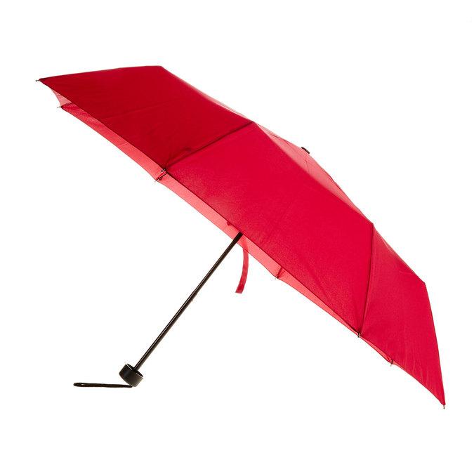 Červený skladací dáždnik bata, červená, 909-5600 - 13