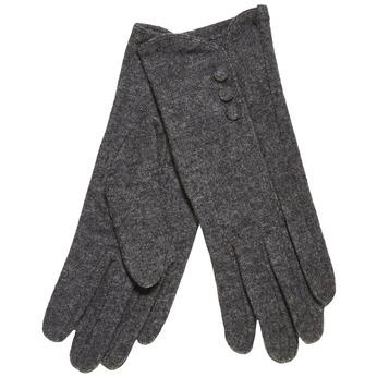 Dámske rukavice s gombíkmi bata, šedá, 909-2405 - 13