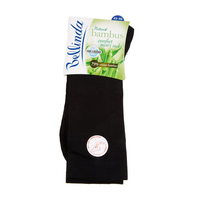 Ponožky bez gumičky bellinda, čierna, 919-6264 - 13