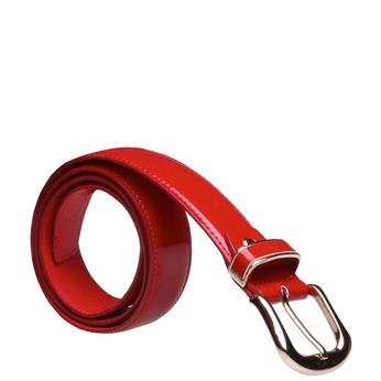 Červený opasok bata, červená, 951-5131 - 13