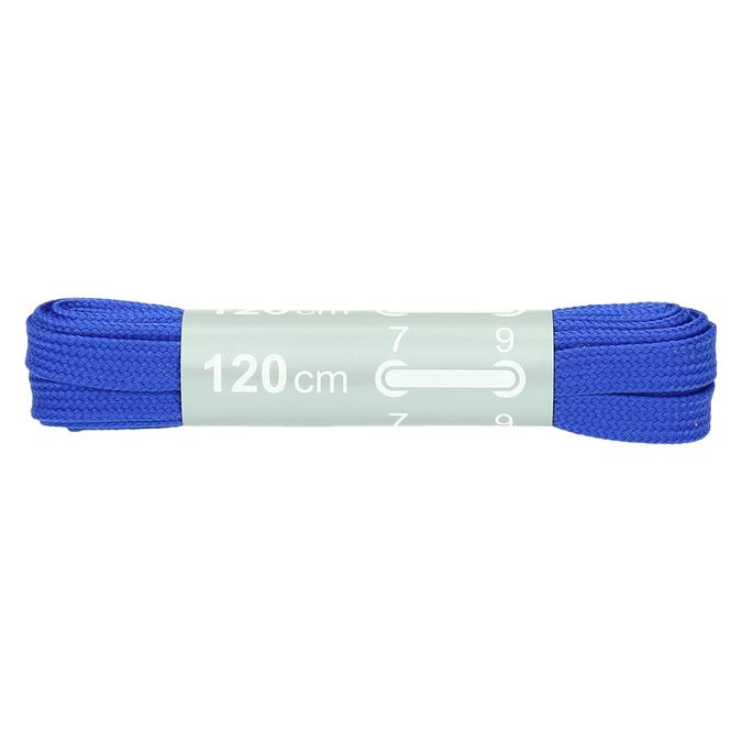 Farebné šnúrky bata, modrá, 999-9266 - 13