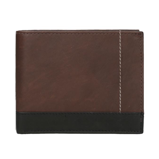 Pánská kožená peňaženka bata, hnedá, 944-8149 - 26