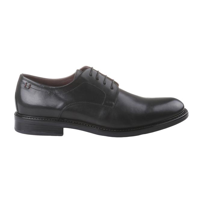 Comfort – kožené poltopánky v Brogue štýle bata-comfit, čierna, 824-6938 - 26