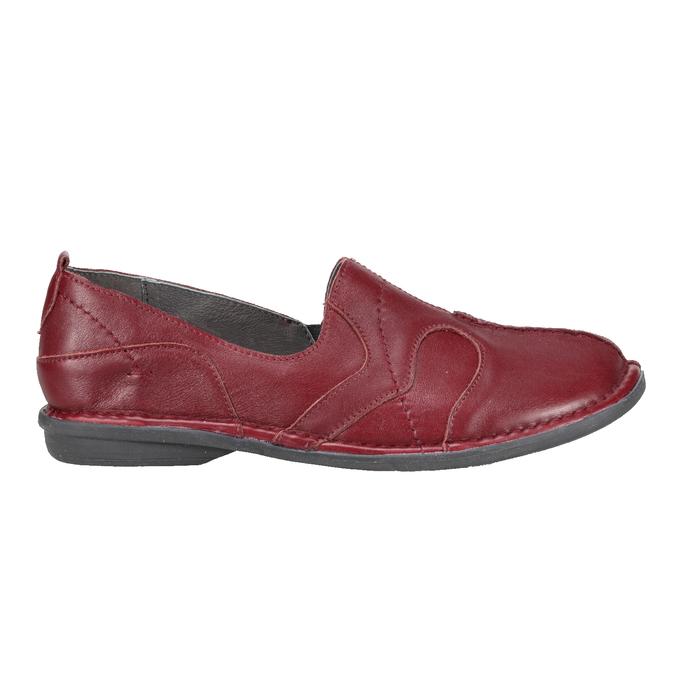 5565100 bata, červená, 556-5100 - 16