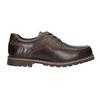 Kožené ležérne poltopánky bata, hnedá, 826-4640 - 26