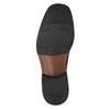 Pánske kožené poltopánky bata, čierna, 824-6655 - 26