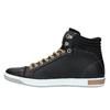 Pánske členkové tenisky bata, čierna, 844-6625 - 26