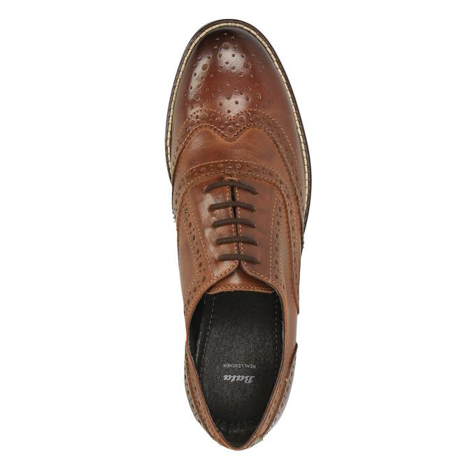 Dámske poltopánky bata, hnedá, 524-4600 - 19