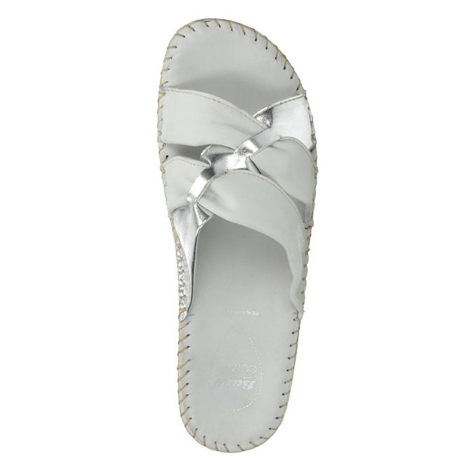Dámske kožené sandále comfit, biela, 574-1248 - 19