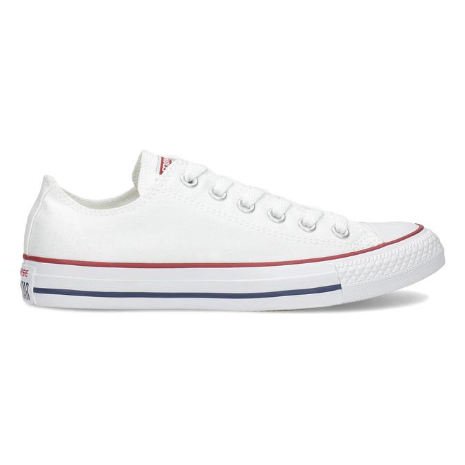 Dámske biele tenisky s gumovou špičkou converse, biela, 589-1279 - 19