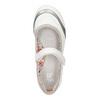 Biele baleríny s remienkom cez priehlavok bata, biela, 321-1310 - 19