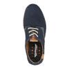 Ležérne  kožené poltpánky weinbrenner, modrá, 526-9606 - 19