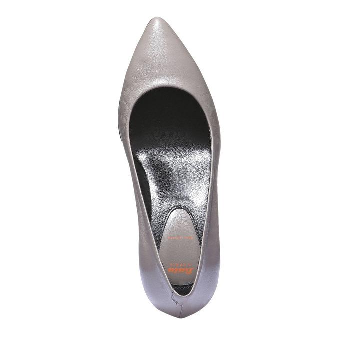 Lodičky so špičkou flexible, šedá, 624-8221 - 19