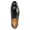Pánske kožené poltopánky so zdobením bata, čierna, 824-6640 - 19
