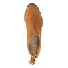 Kožené členkové čižmy so strapcom bata, hnedá, 793-4601 - 19