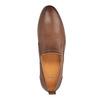 Pánske kožené Slip-on topánky bata, hnedá, 814-4148 - 19