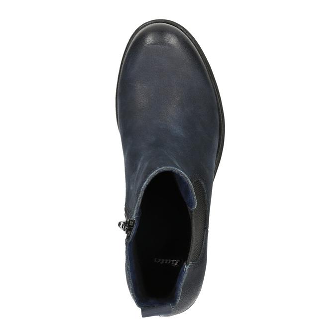 Dámska členková obuv bata, modrá, 696-9606 - 19
