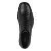 Pánske kožené poltopánky bata, čierna, 824-6655 - 19