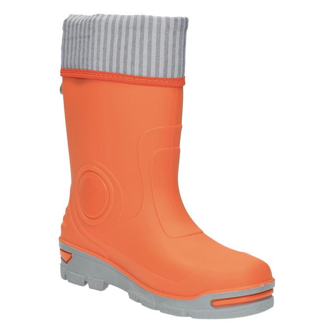 Detské oranžové gumáky mini-b, oranžová, 292-8200 - 13