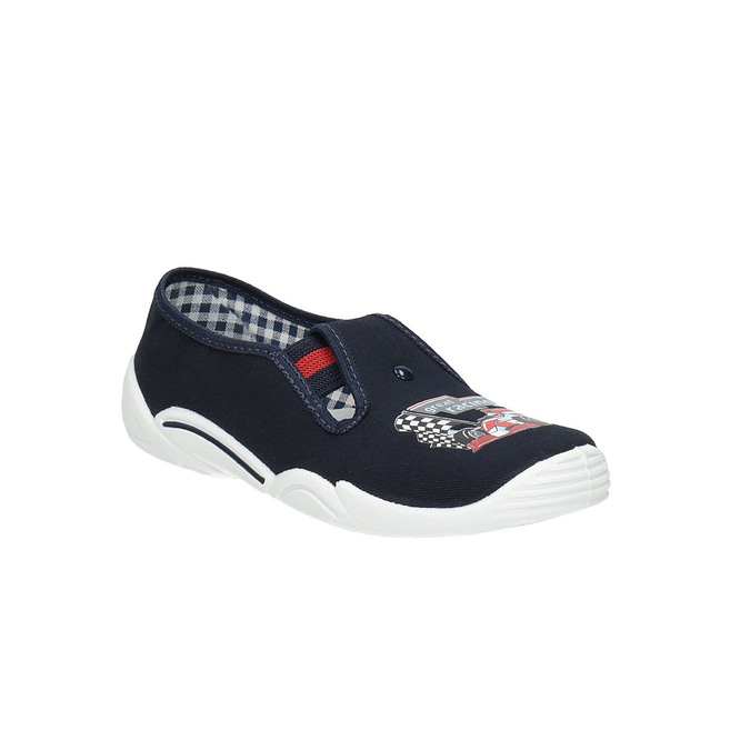 Detská domáca obuv mini-b, modrá, 379-9211 - 13