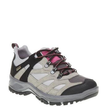 Kožené Outdoor topánky, šedá, 543-2208 - 13