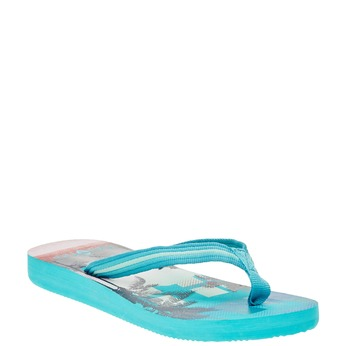 Dámske žabky pata-pata, modrá, 581-9600 - 13