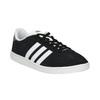 Pánske kožené tenisky adidas, čierna, 803-6132 - 13
