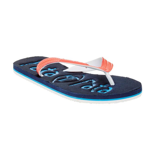 Pánske žabky pata-pata, modrá, 881-9600 - 13