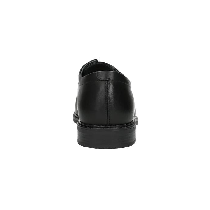 Kožené pánske poltopánky climatec, čierna, 824-6111 - 17